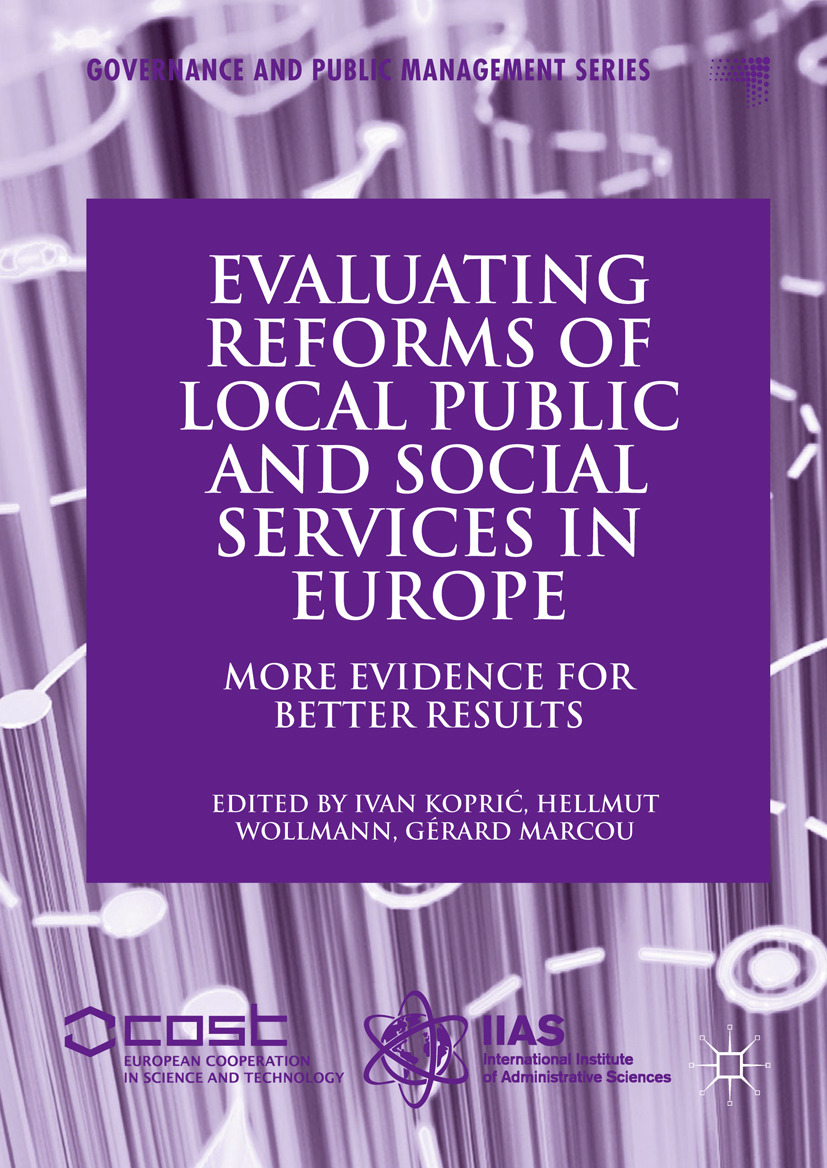 Koprić, Ivan - Evaluating Reforms of Local Public and Social Services in Europe, ebook
