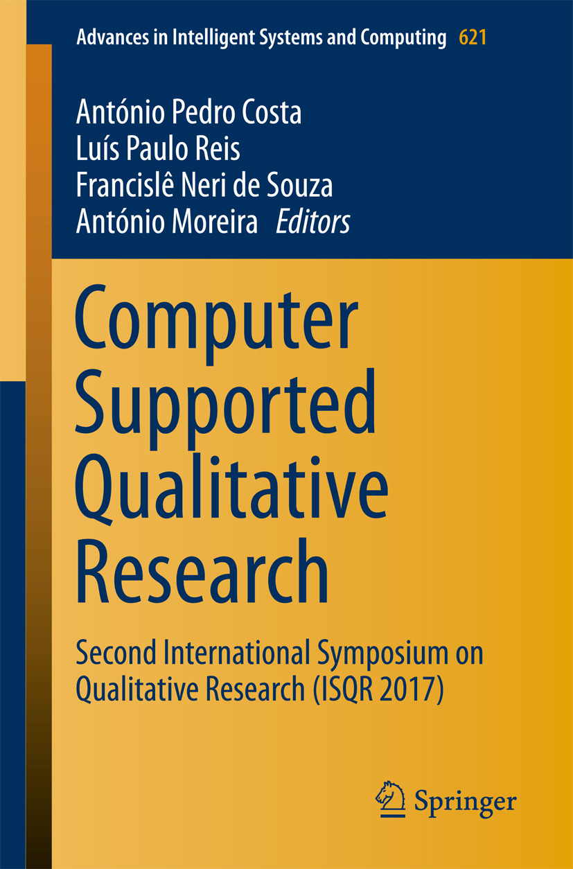 Costa, António Pedro - Computer Supported Qualitative Research, ebook