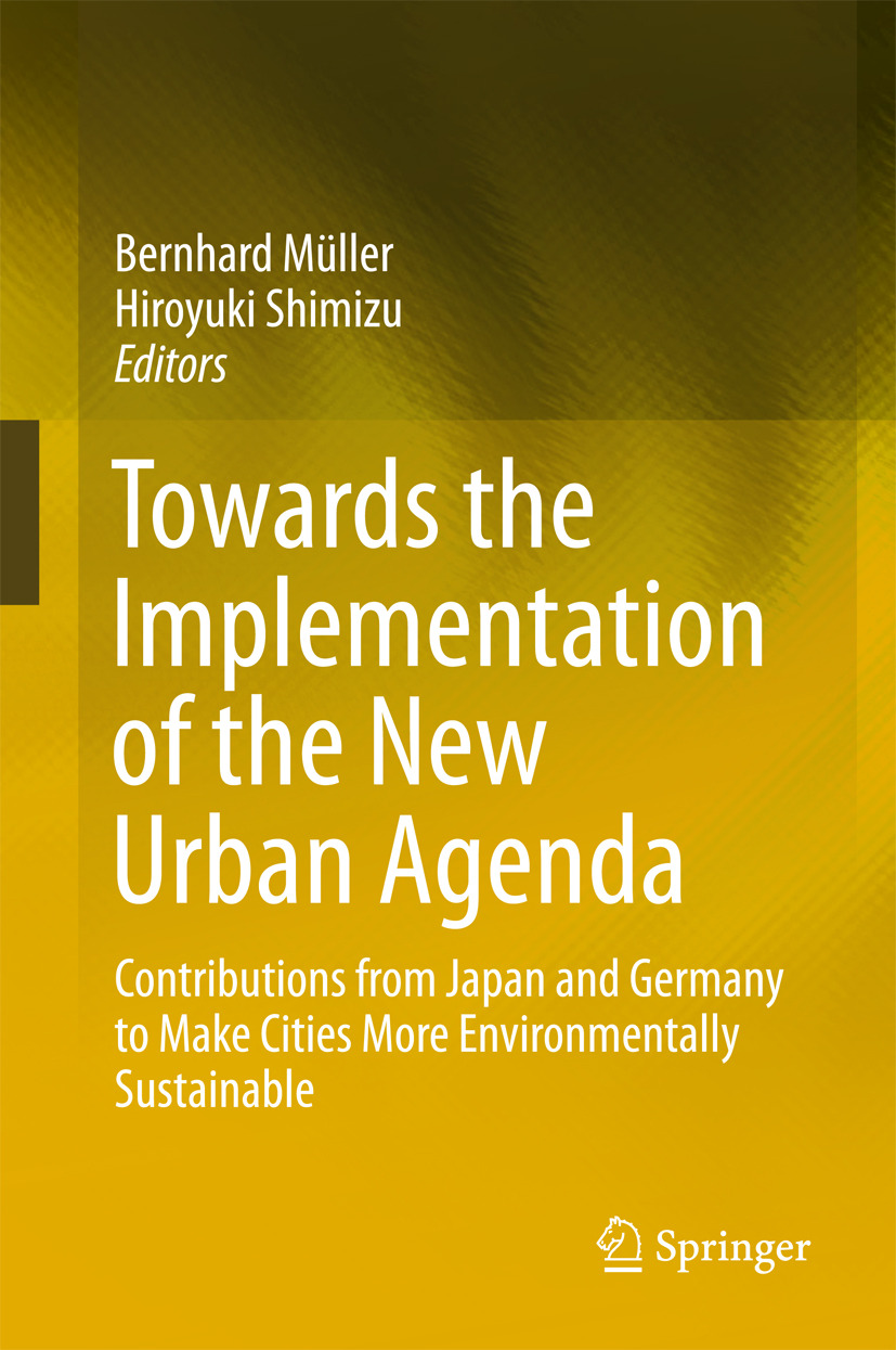Müller, Bernhard - Towards the Implementation of the New Urban Agenda, ebook