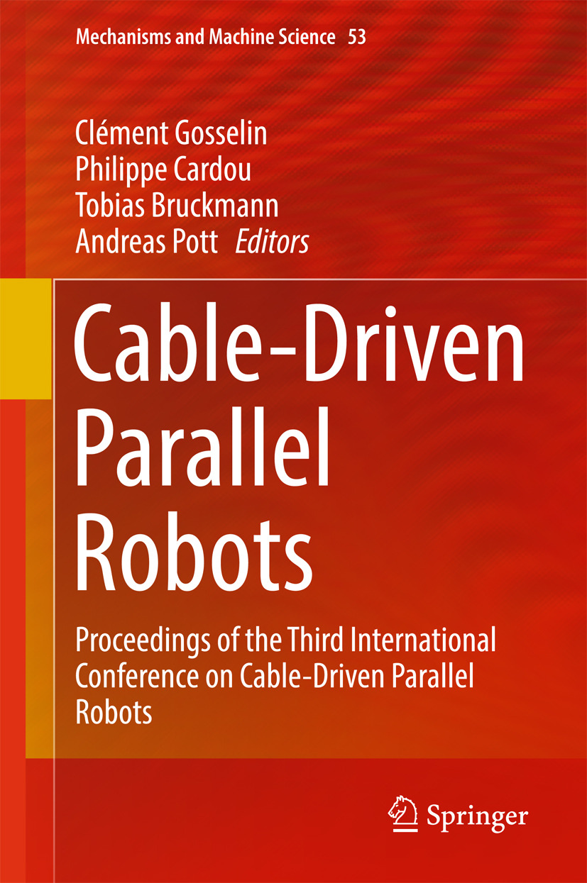 Bruckmann, Tobias - Cable-Driven Parallel Robots, ebook