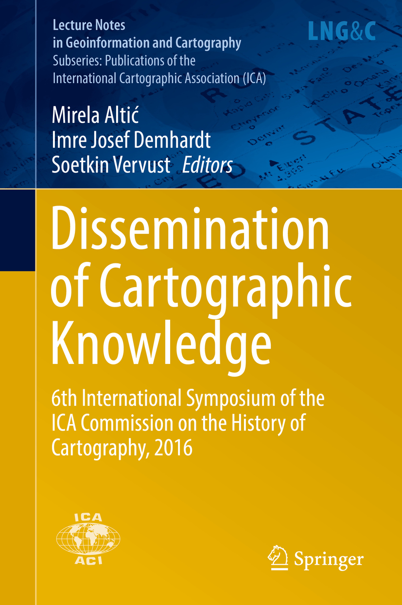 Altić, Mirela - Dissemination of Cartographic Knowledge, ebook