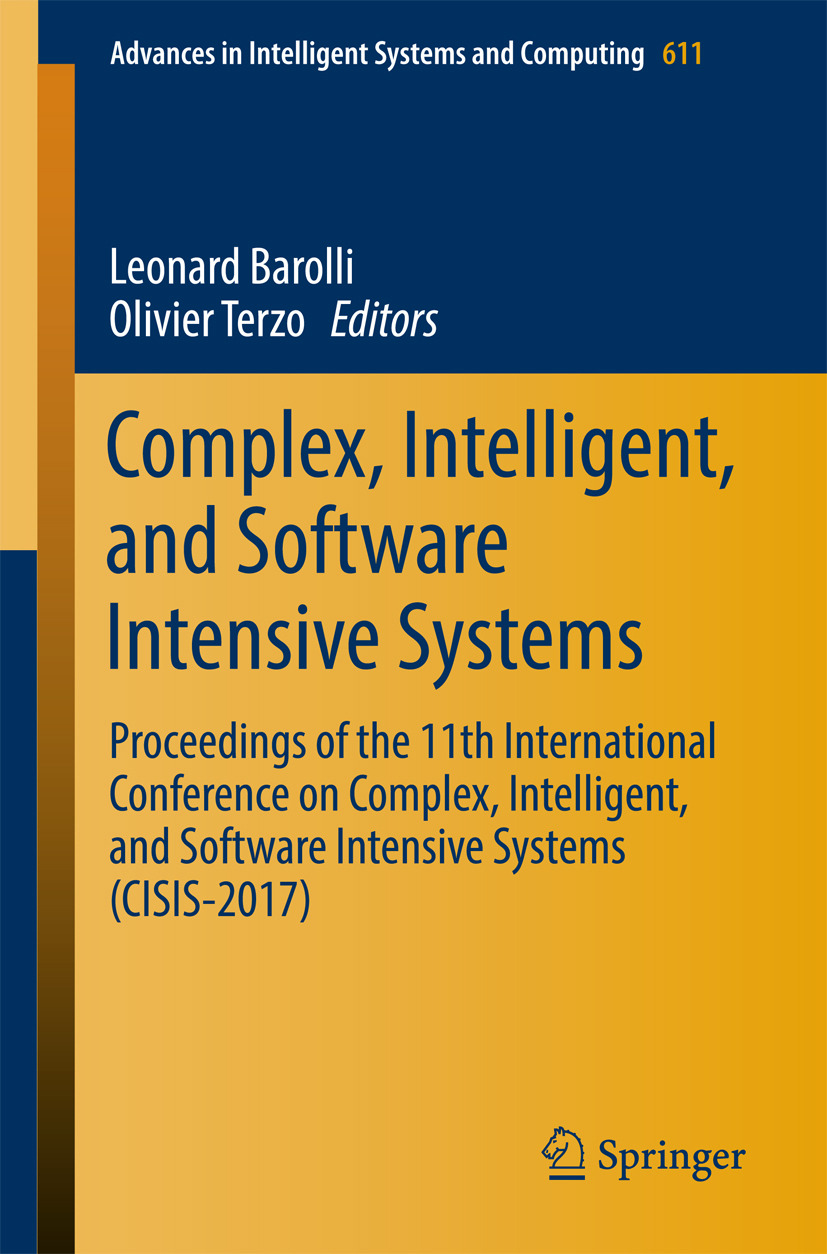 Barolli, Leonard - Complex, Intelligent, and Software Intensive Systems, ebook