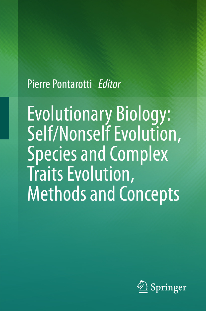 Pontarotti, Pierre - Evolutionary Biology: Self/Nonself Evolution, Species and Complex Traits Evolution, Methods and Concepts, ebook