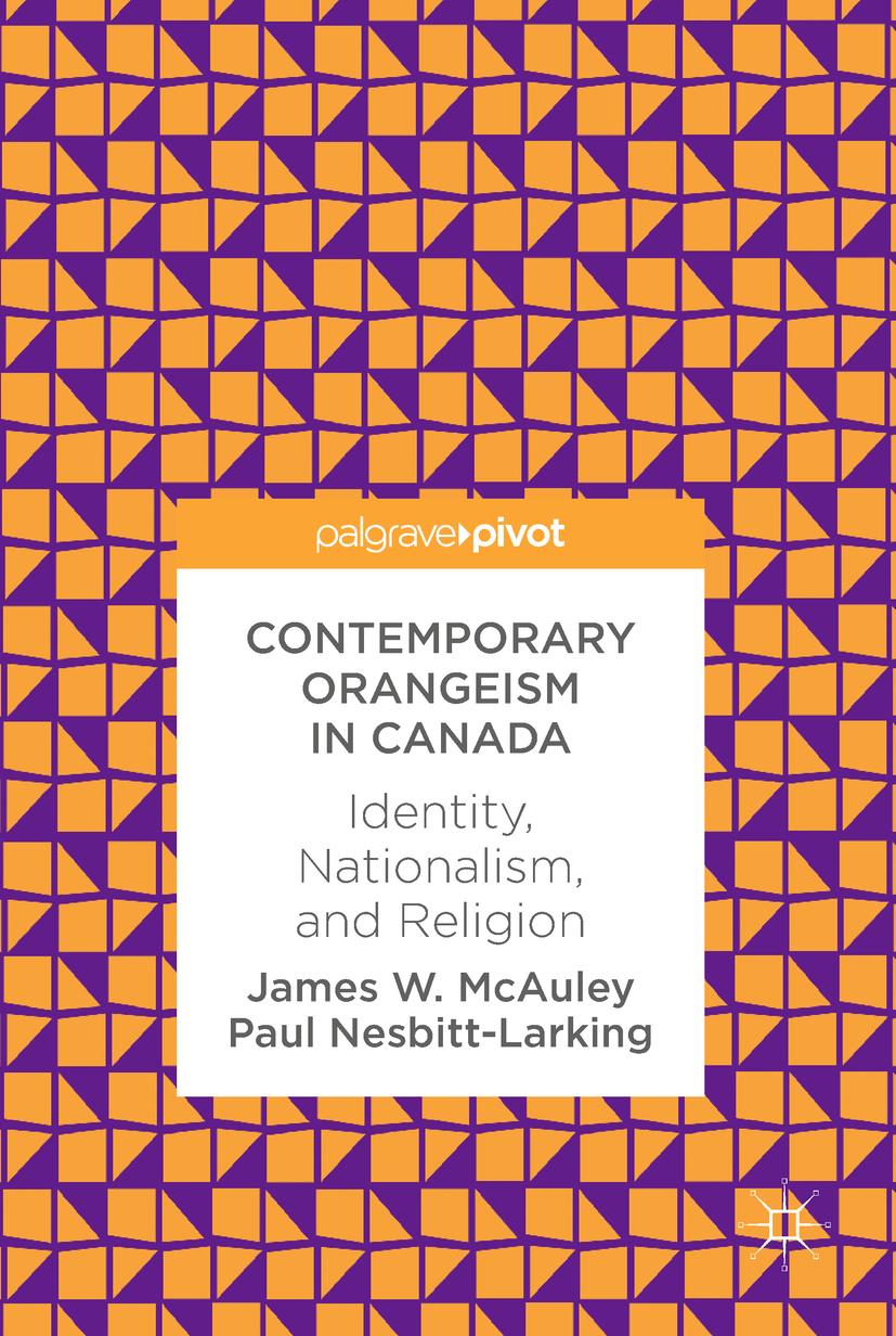 McAuley, James W. - Contemporary Orangeism in Canada, ebook