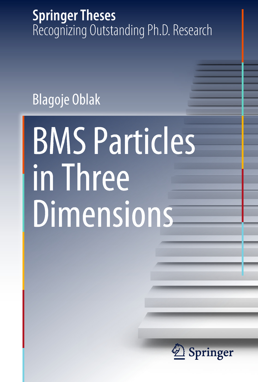Oblak, Blagoje - BMS Particles in Three Dimensions, ebook