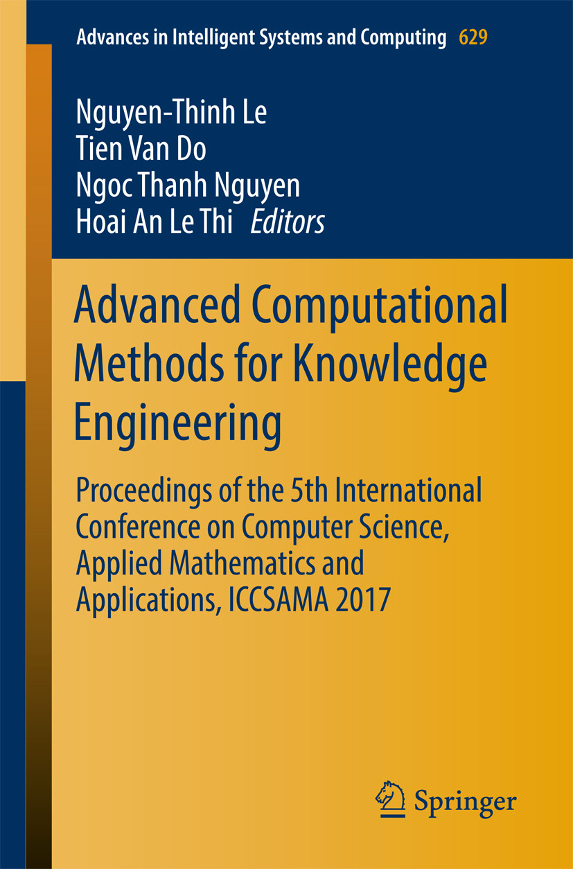 Do, Tien van - Advanced Computational Methods for Knowledge Engineering, ebook