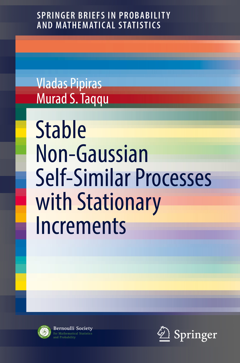 Pipiras, Vladas - Stable Non-Gaussian Self-Similar Processes with Stationary Increments, ebook