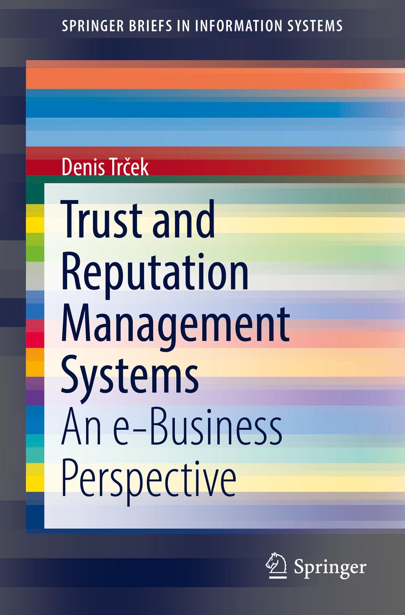 Trček, Denis - Trust and Reputation Management Systems, ebook