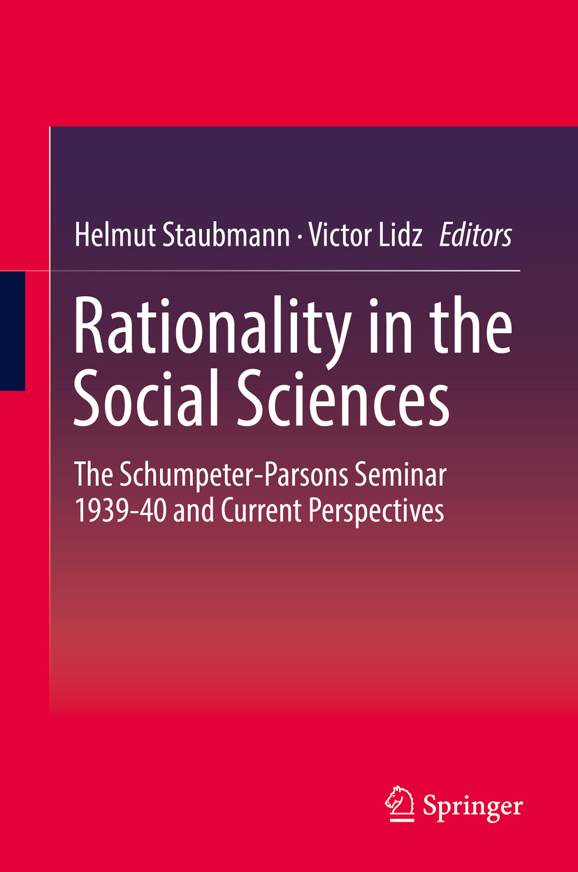 Lidz, Victor - Rationality in the Social Sciences, ebook