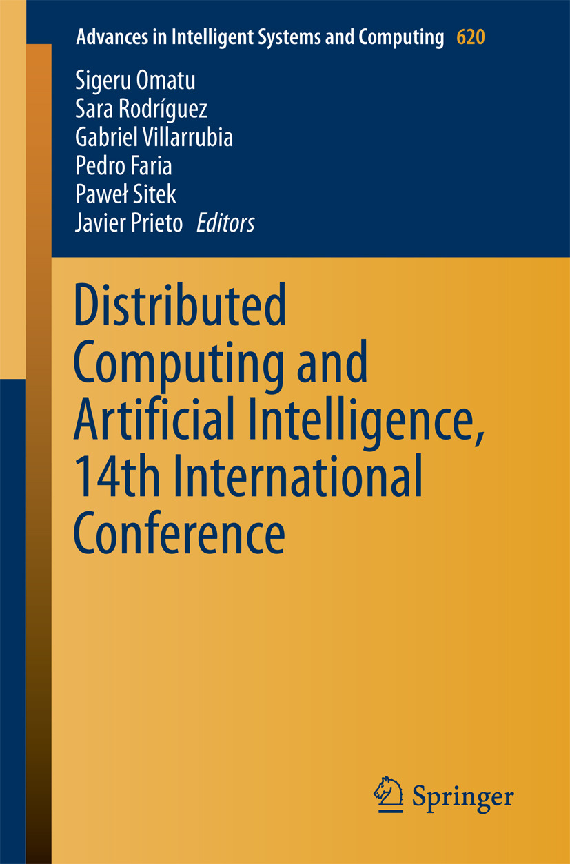 Faria, Pedro - Distributed Computing and Artificial Intelligence, 14th International Conference, ebook