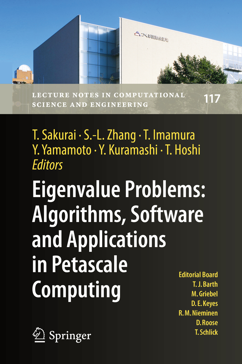 Hoshi, Takeo - Eigenvalue Problems: Algorithms, Software and Applications in Petascale Computing, ebook