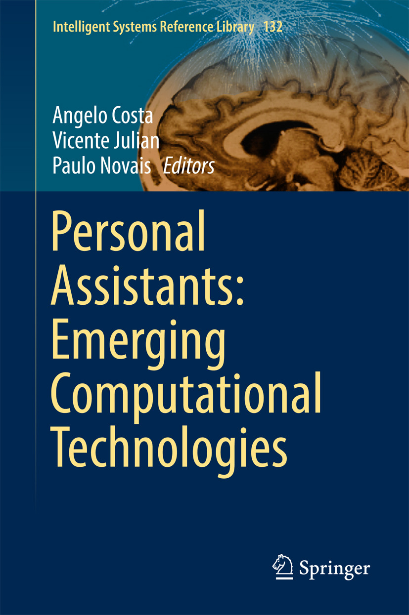 Costa, Angelo - Personal Assistants: Emerging Computational Technologies, ebook