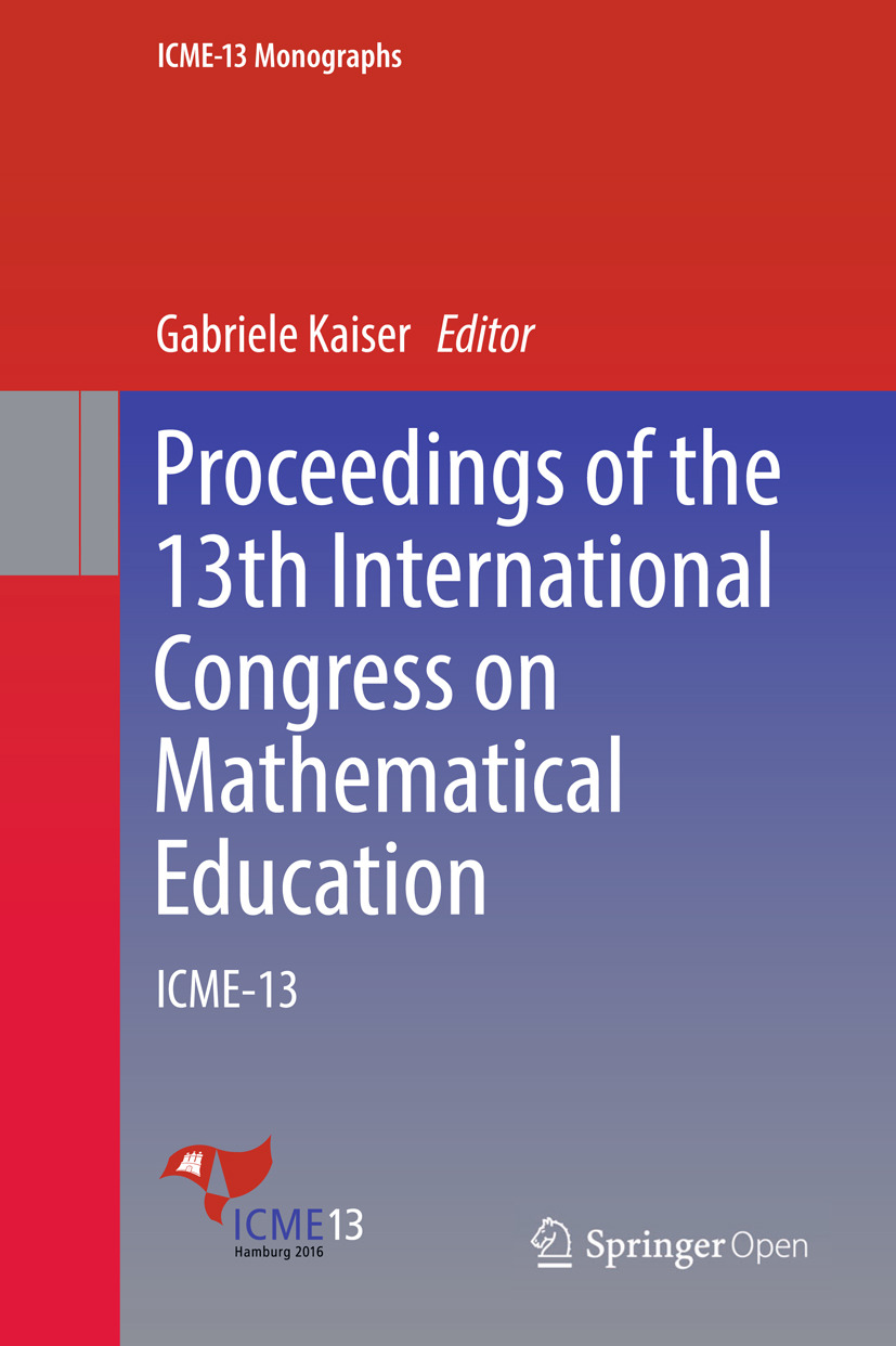Kaiser, Gabriele - Proceedings of the 13th International Congress on Mathematical Education, ebook