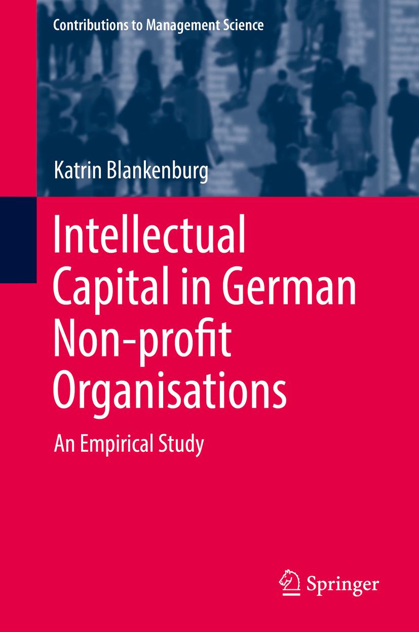 Blankenburg, Katrin - Intellectual Capital in German Non-profit Organisations, ebook
