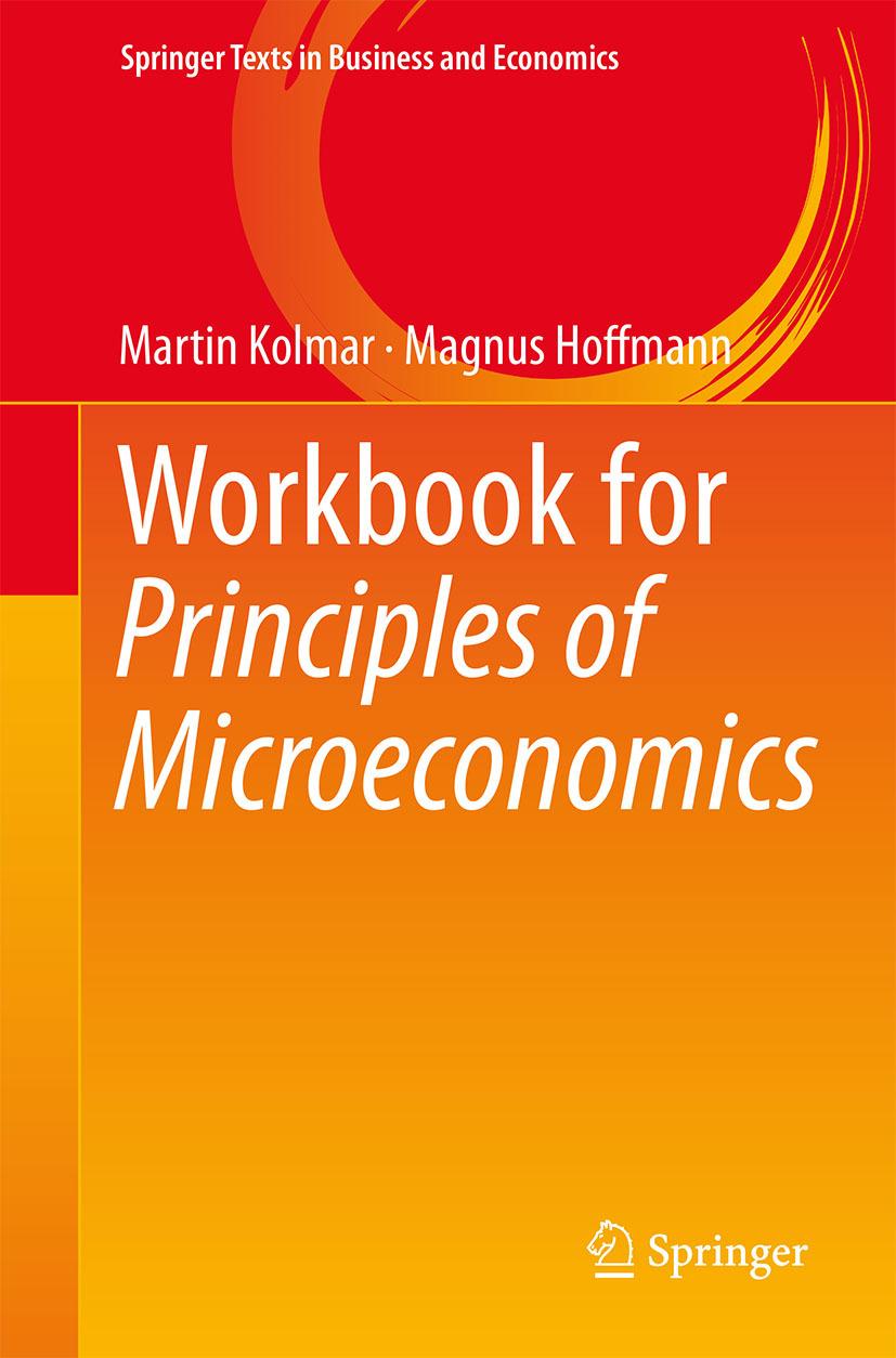 Hoffmann, Magnus - Workbook for Principles of Microeconomics, ebook