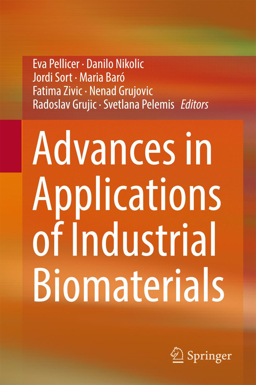 Baró, Maria - Advances in Applications of Industrial Biomaterials, ebook