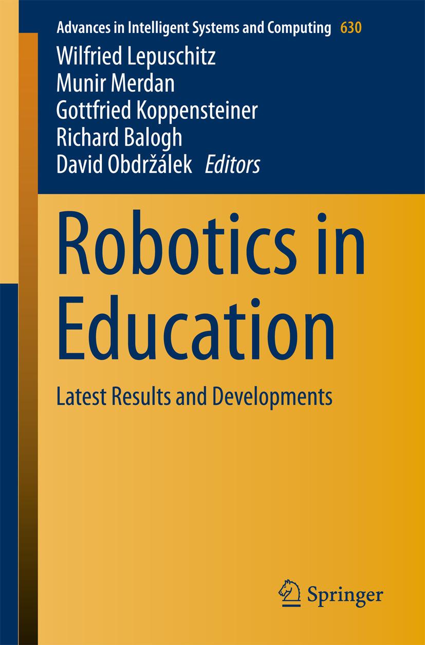 Balogh, Richard - Robotics in Education, ebook
