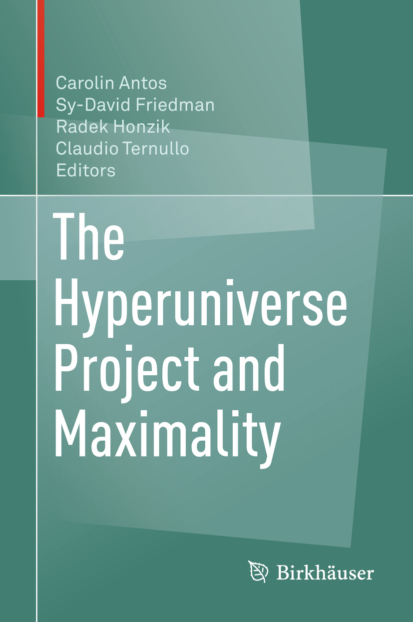 Antos, Carolin - The Hyperuniverse Project and Maximality, ebook