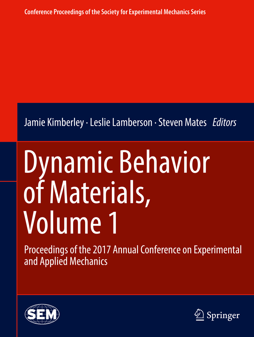 Kimberley, Jamie - Dynamic Behavior of Materials, Volume 1, ebook