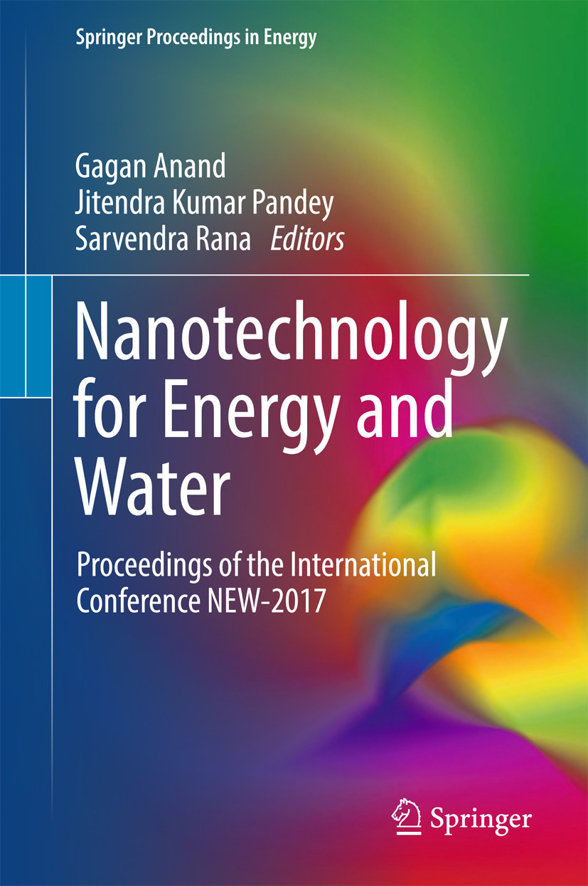 Anand, Gagan - Nanotechnology for Energy and Water, ebook