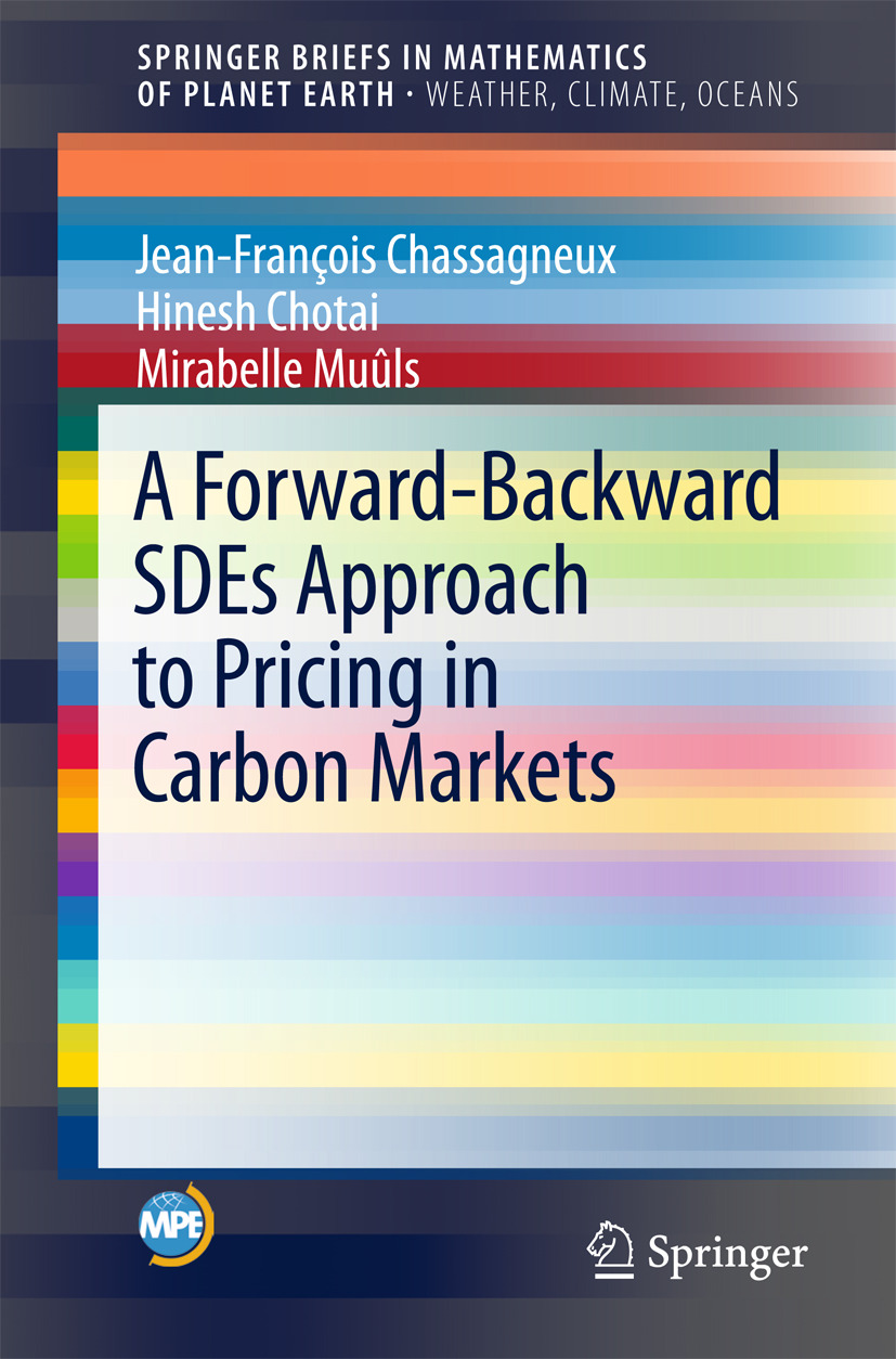 Chassagneux, Jean-François - A Forward-Backward SDEs Approach to Pricing in Carbon Markets, ebook