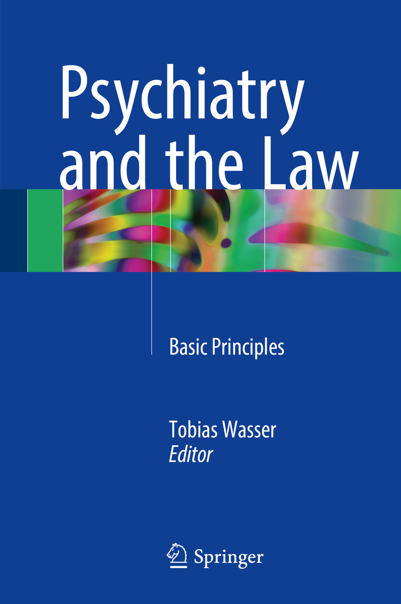 Wasser, Tobias - Psychiatry and the Law, ebook