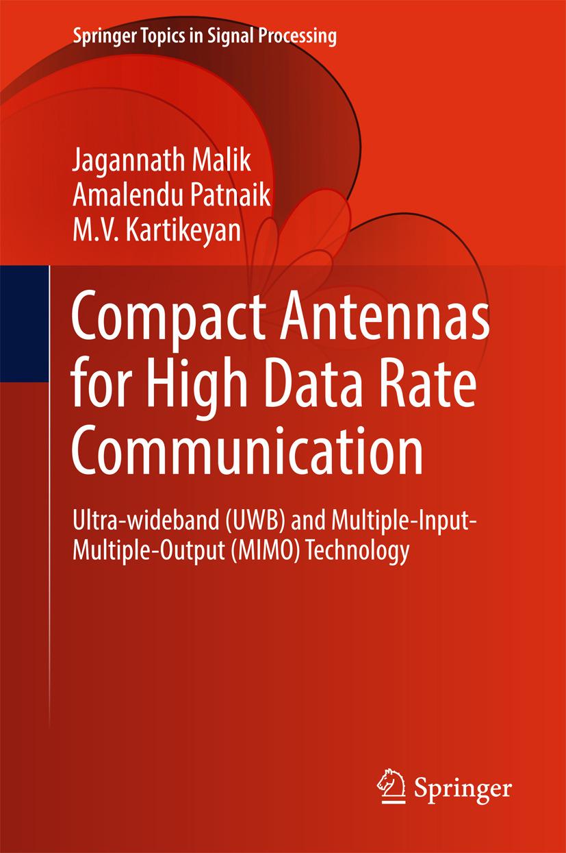 Kartikeyan, M.V. - Compact Antennas for High Data Rate Communication, e-kirja