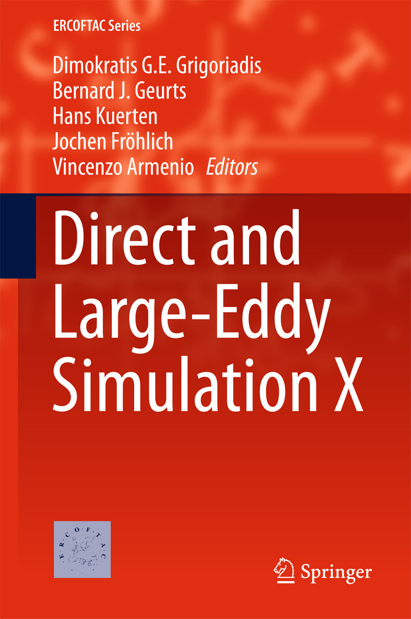 Armenio, Vincenzo - Direct and Large-Eddy Simulation X, ebook
