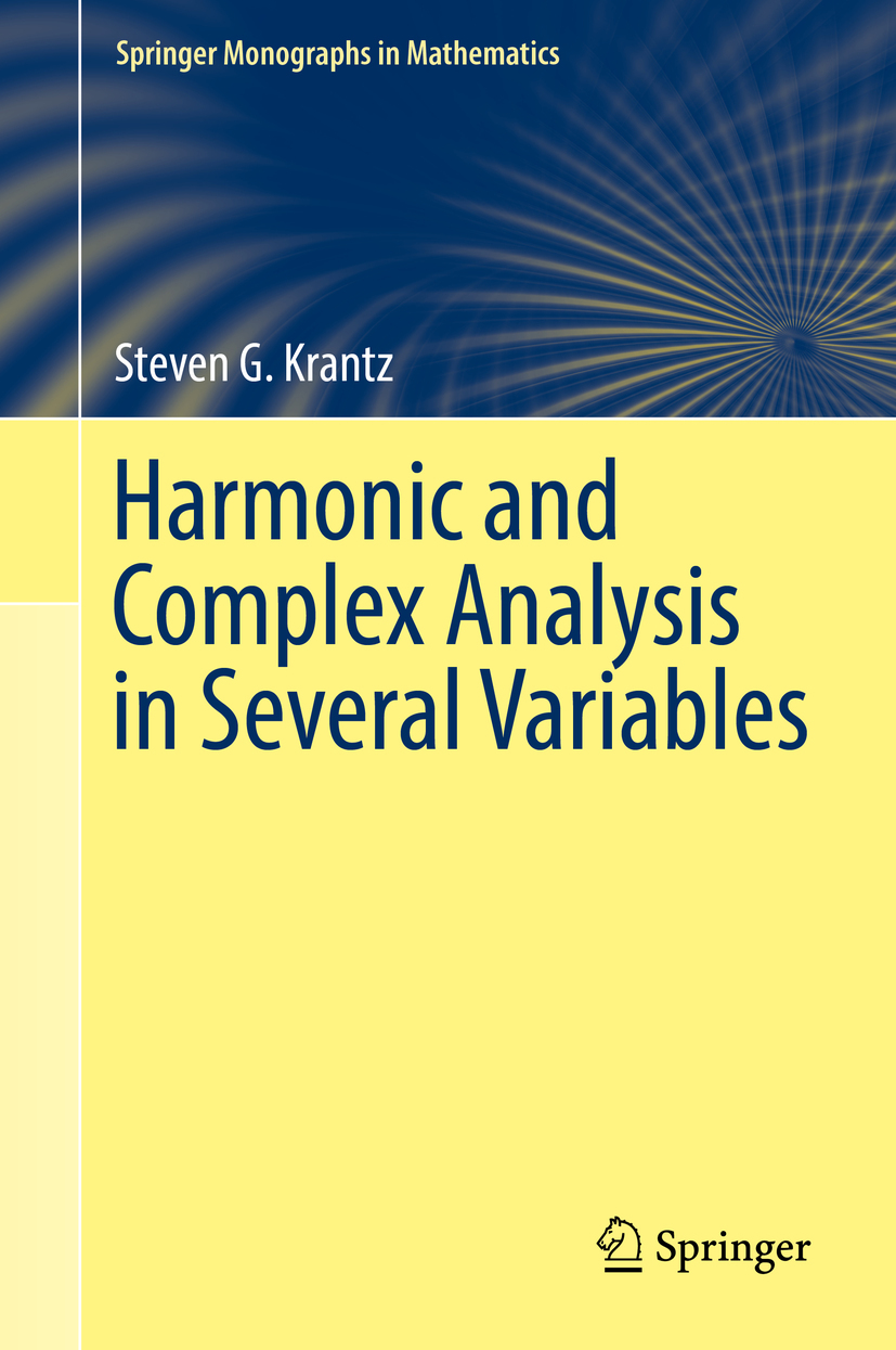 Krantz, Steven G. - Harmonic and Complex Analysis in Several Variables, ebook