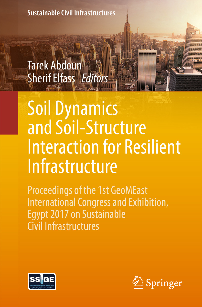 Abdoun, Tarek - Soil Dynamics and Soil-Structure Interaction for Resilient Infrastructure, ebook