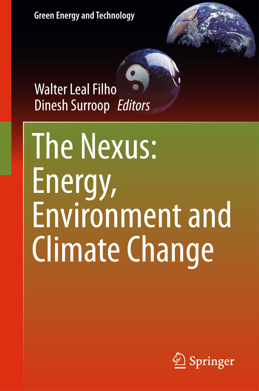 Filho, Walter Leal - The Nexus: Energy, Environment and Climate Change, ebook