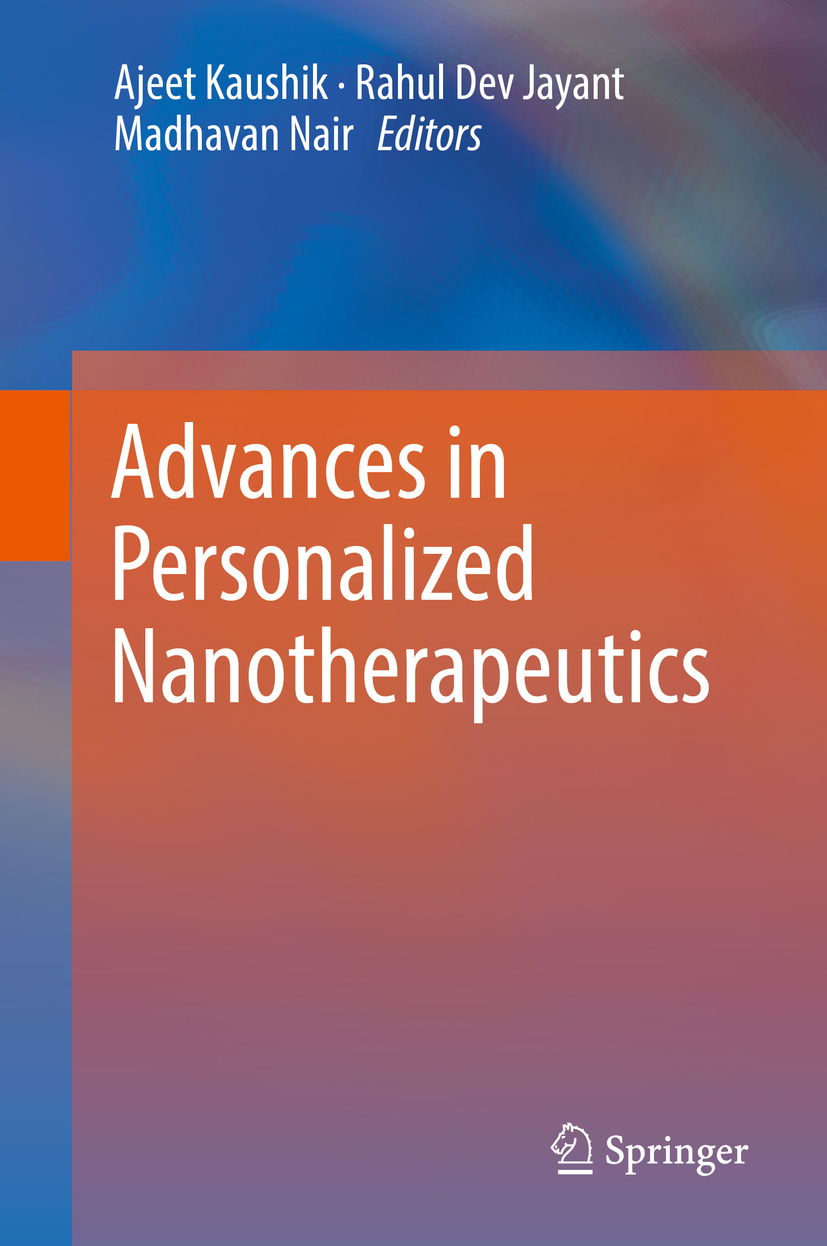 Jayant, Rahul Dev - Advances in Personalized Nanotherapeutics, e-kirja