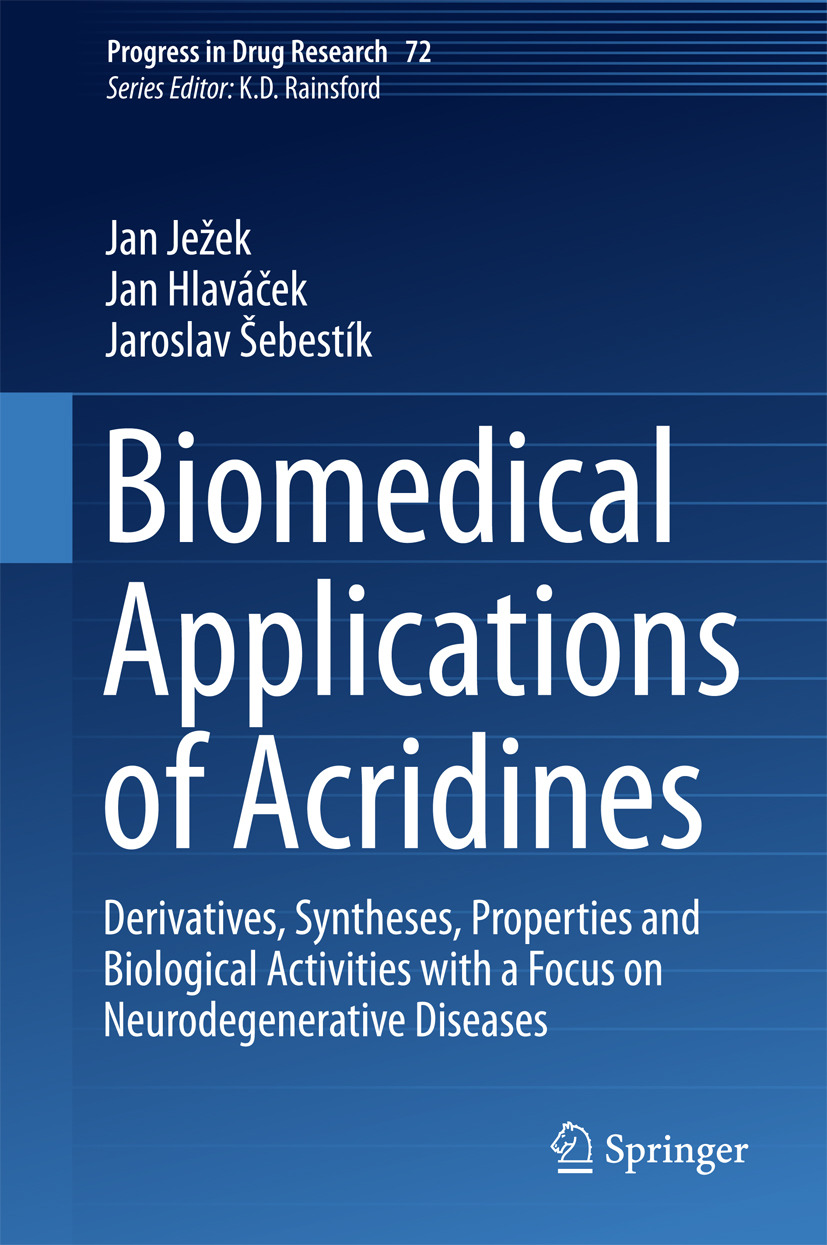 Hlaváček, Jan - Biomedical Applications of Acridines, ebook
