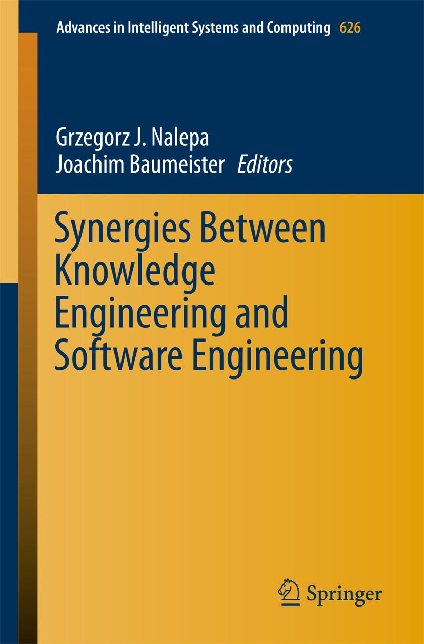 Baumeister, Joachim - Synergies Between Knowledge Engineering and Software Engineering, ebook
