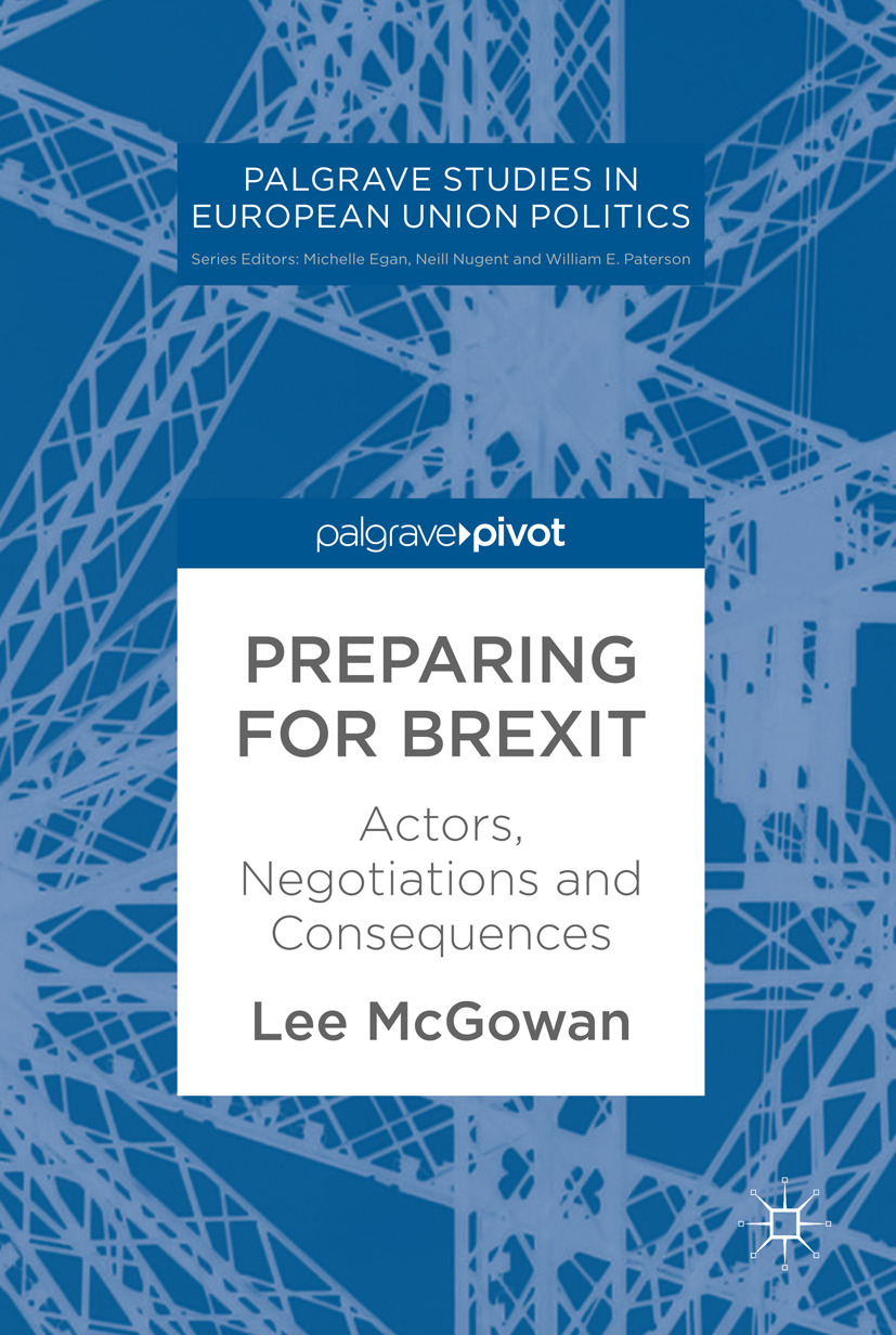 McGowan, Lee - Preparing for Brexit, e-kirja