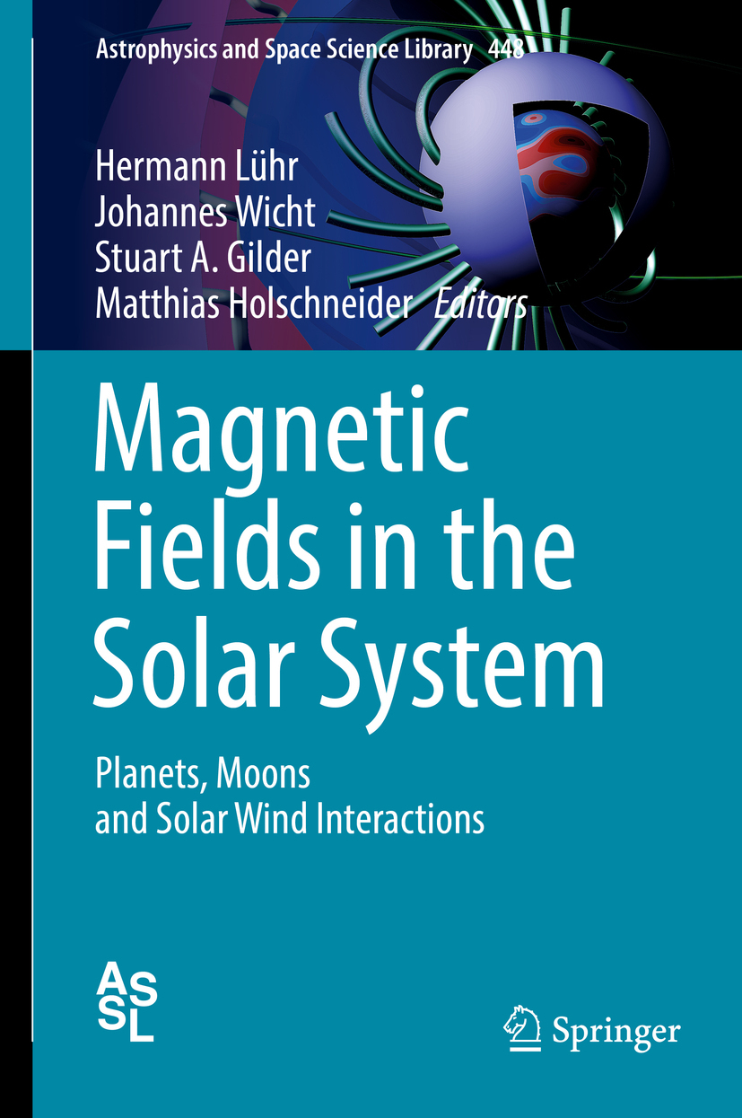 Gilder, Stuart A. - Magnetic Fields in the Solar System, ebook