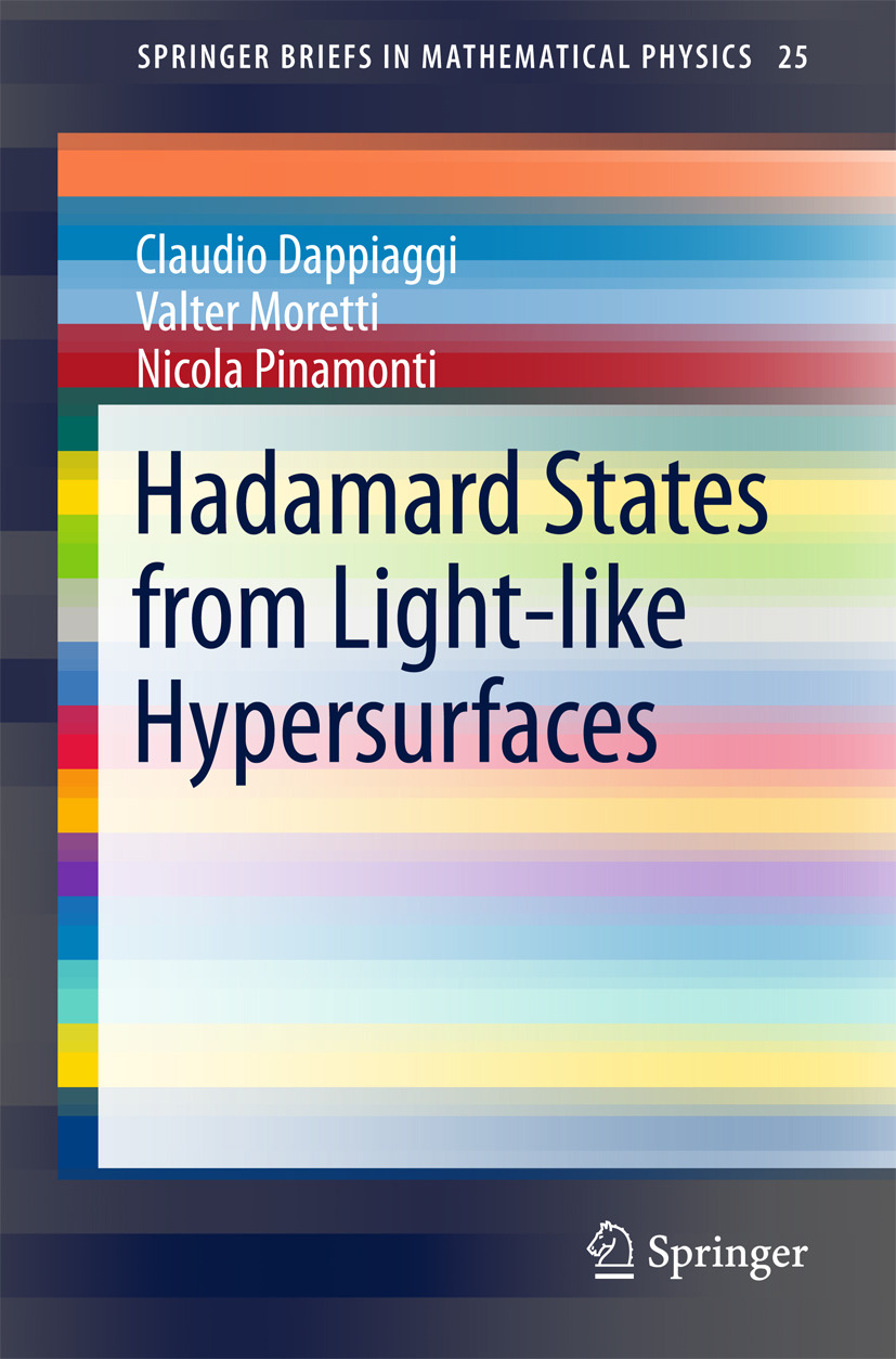 Dappiaggi, Claudio - Hadamard States from Light-like Hypersurfaces, ebook
