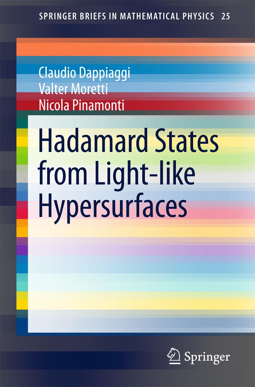 Dappiaggi, Claudio - Hadamard States from Light-like Hypersurfaces, ebook
