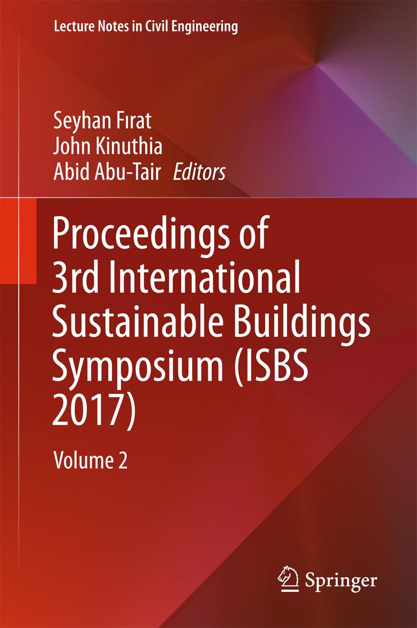 Abu-Tair, Abid - Proceedings of 3rd International Sustainable Buildings Symposium (ISBS 2017), ebook