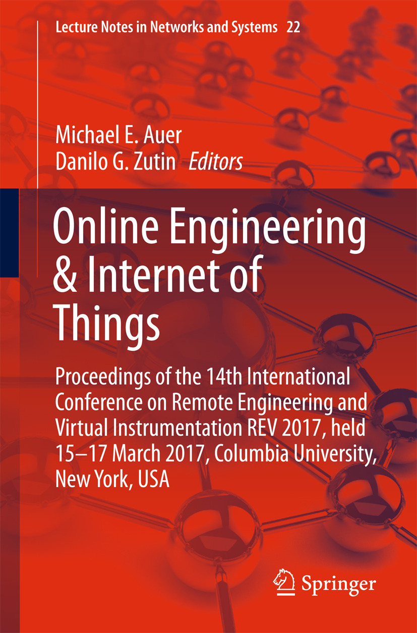Auer, Michael E. - Online Engineering & Internet of Things, ebook
