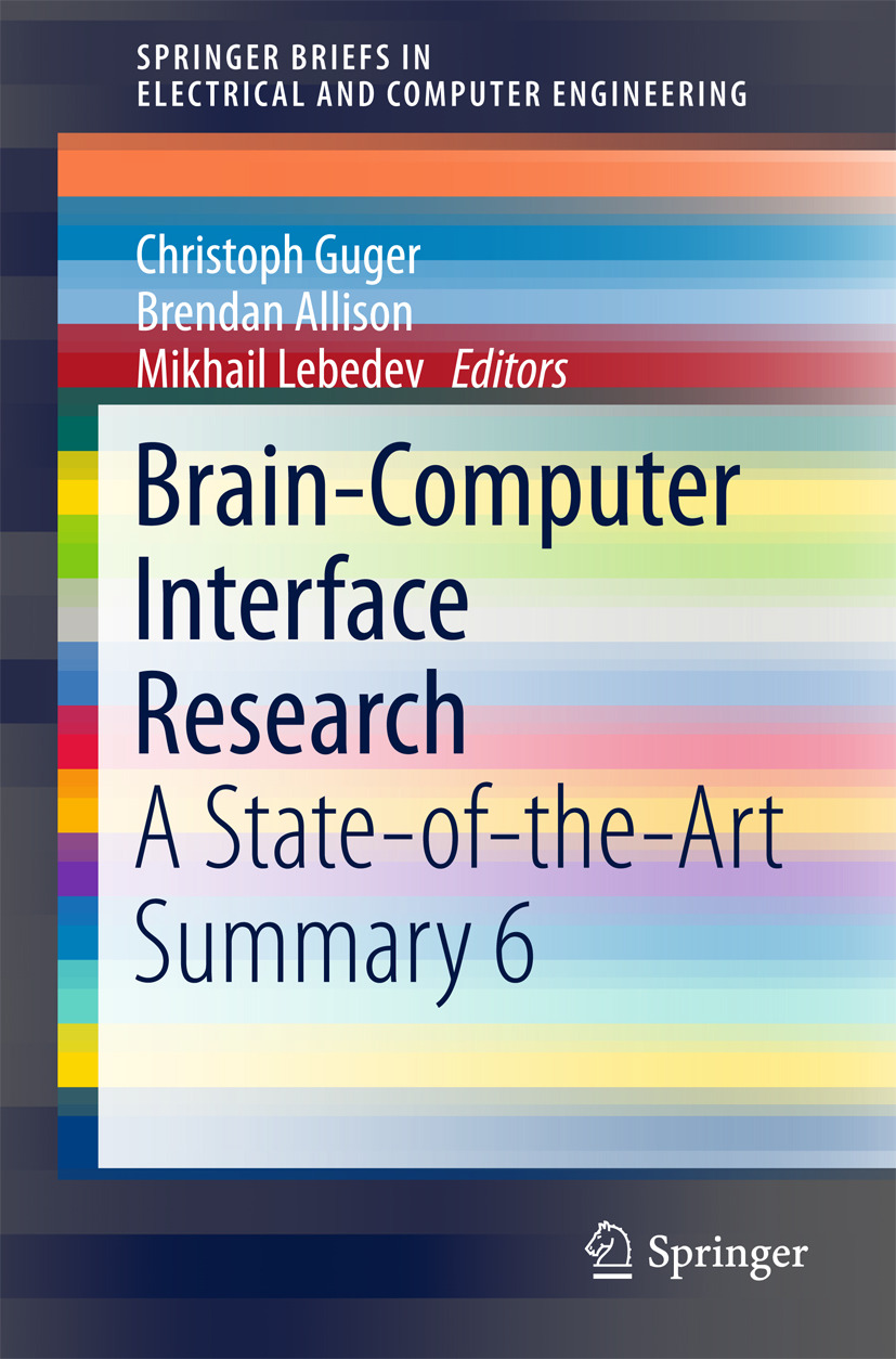 Allison, Brendan - Brain-Computer Interface Research, ebook