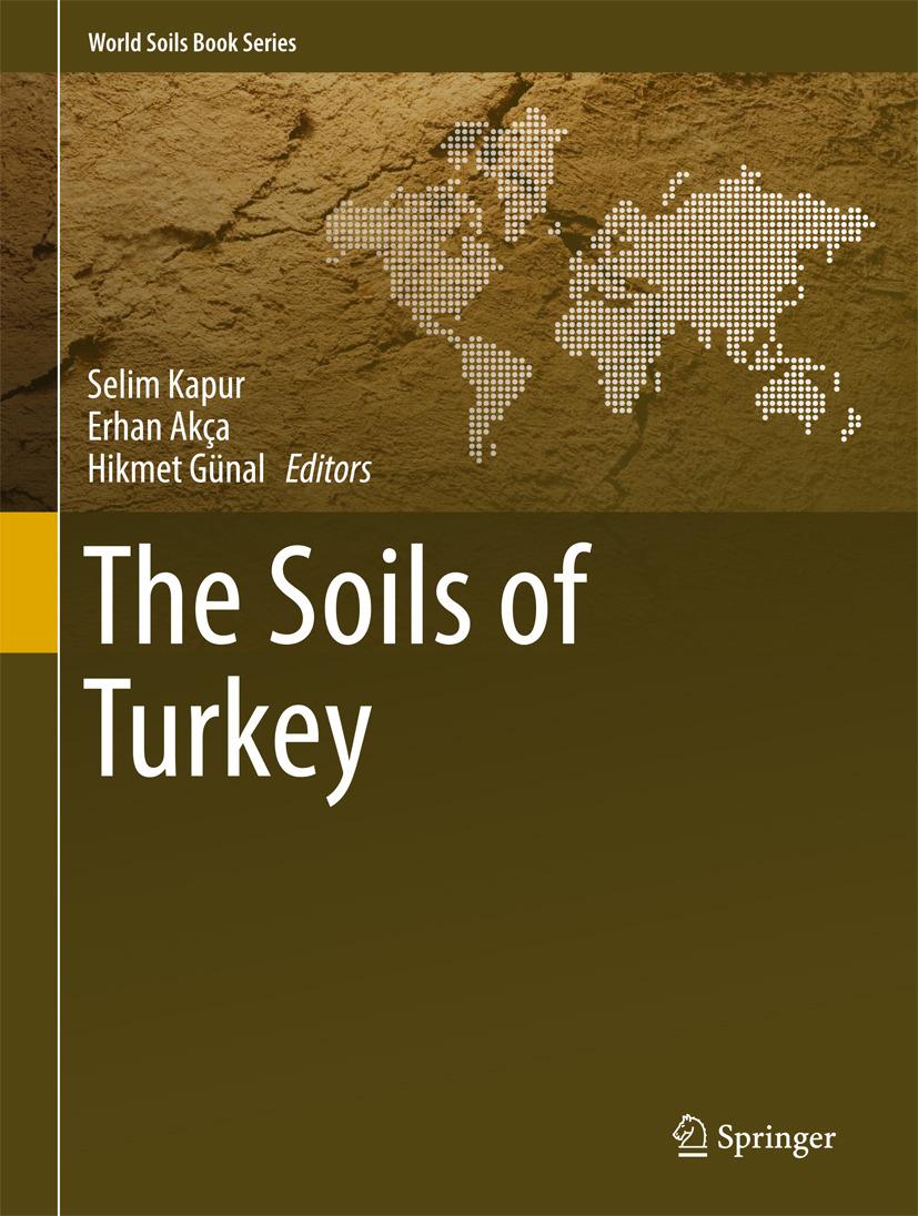 Akça, Erhan - The Soils of Turkey, ebook