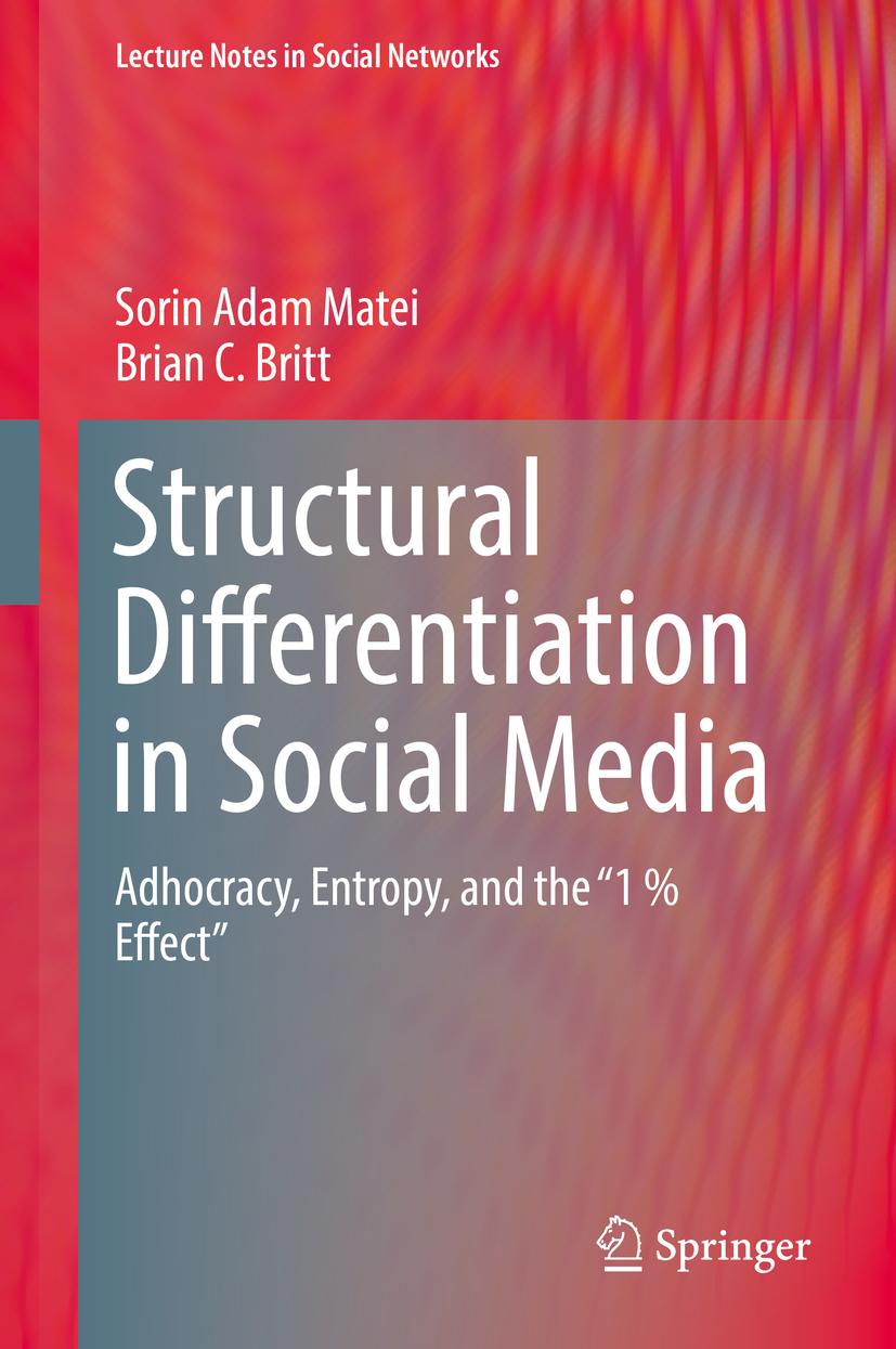 Britt, Brian C. - Structural Differentiation in Social Media, e-kirja
