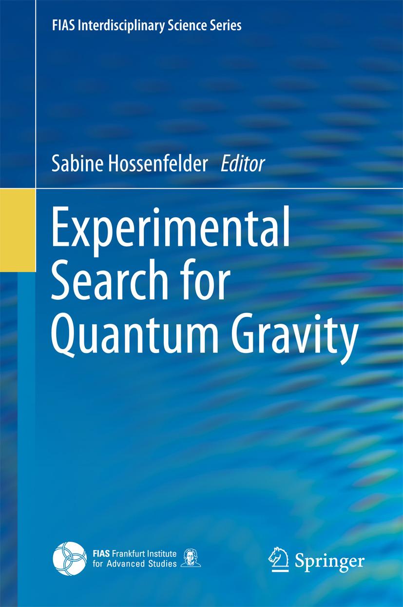 Hossenfelder, Sabine - Experimental Search for Quantum Gravity, ebook
