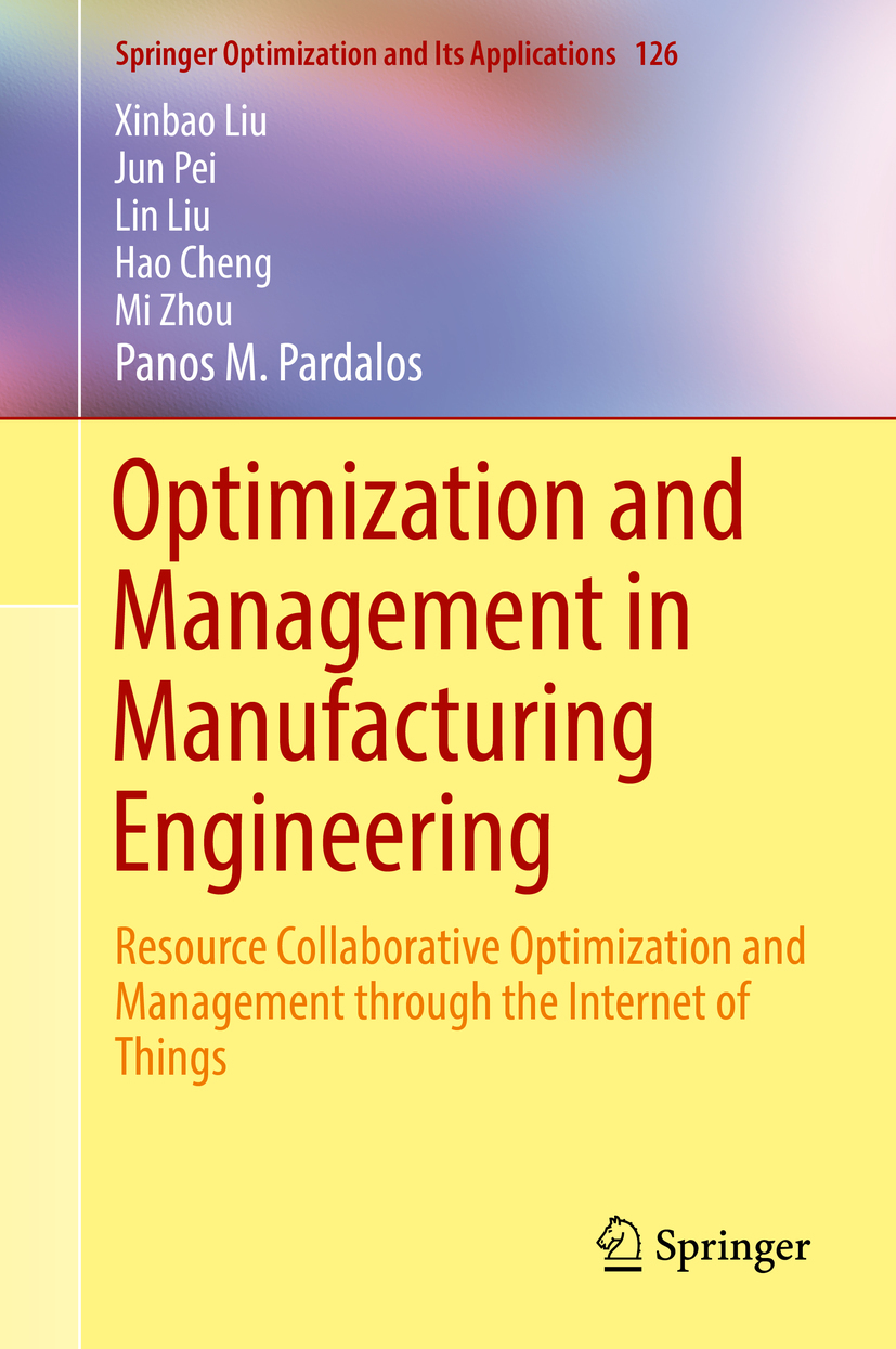 Cheng, Hao - Optimization and Management in Manufacturing Engineering, ebook