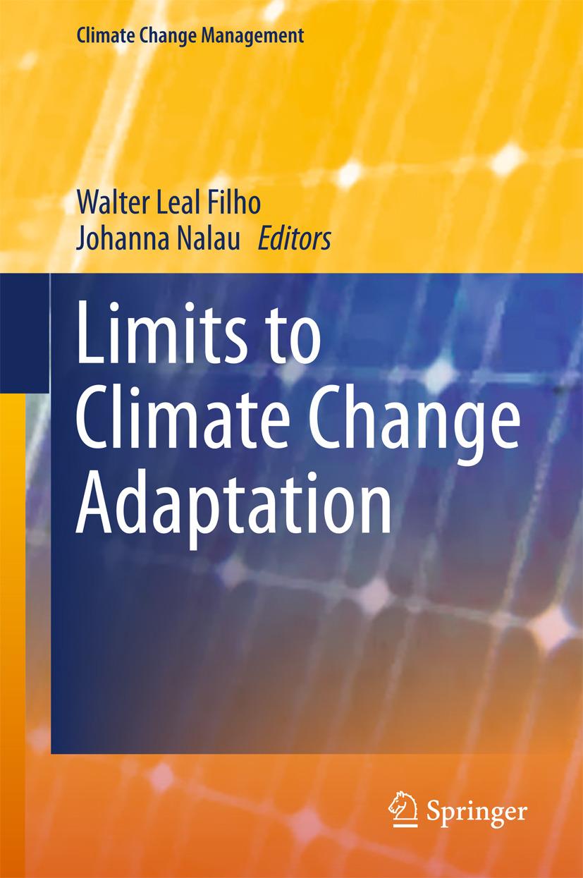 Filho, Walter Leal - Limits to Climate Change Adaptation, e-bok