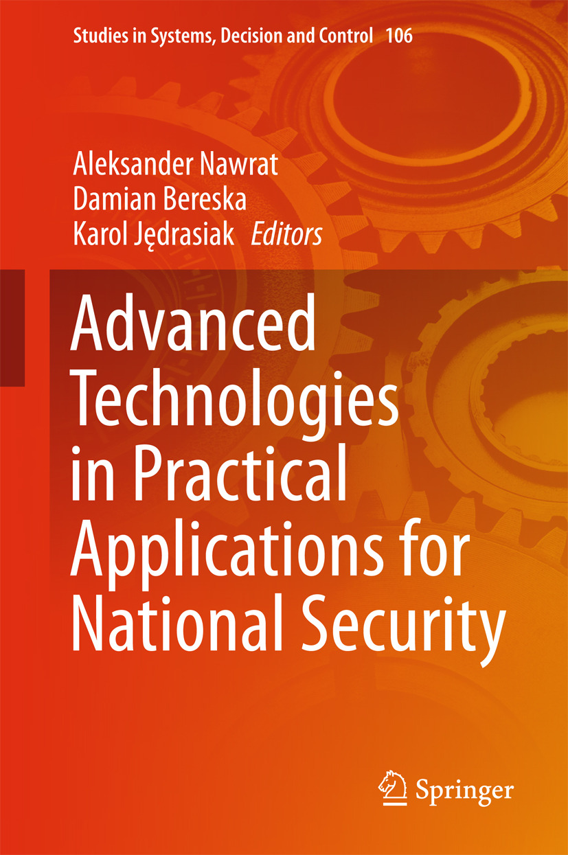 Bereska, Damian - Advanced Technologies in Practical Applications for National Security, ebook