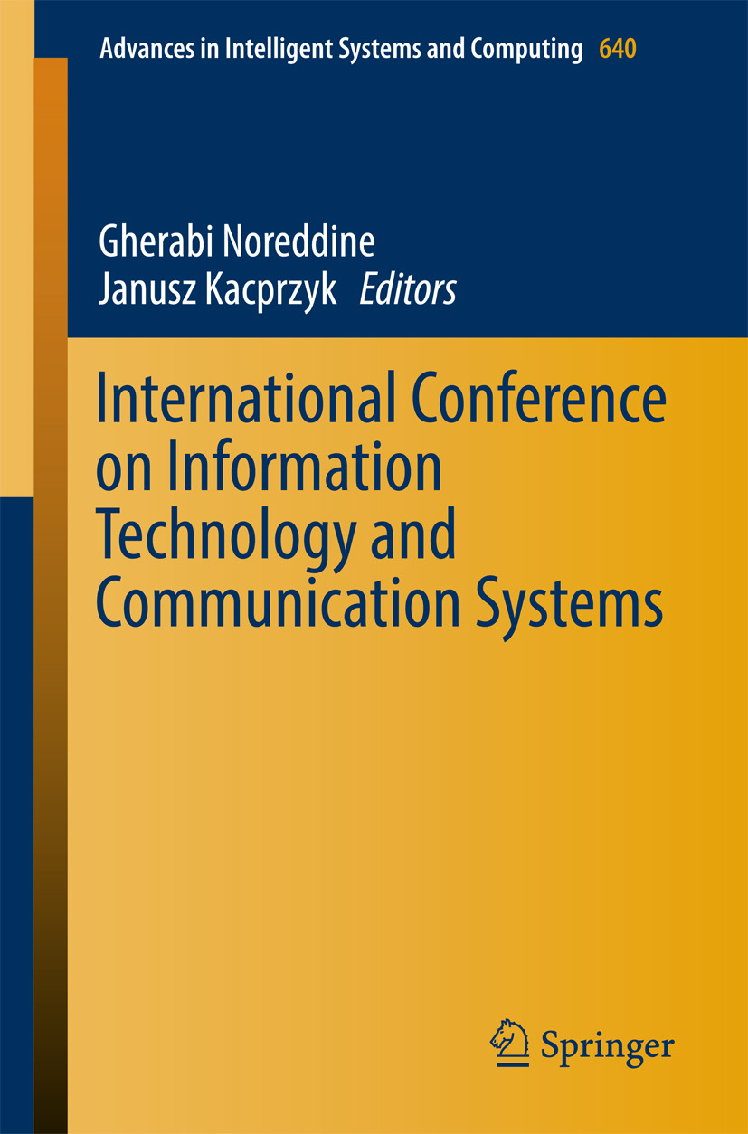 Kacprzyk, Janusz - International Conference on Information Technology and Communication Systems, ebook