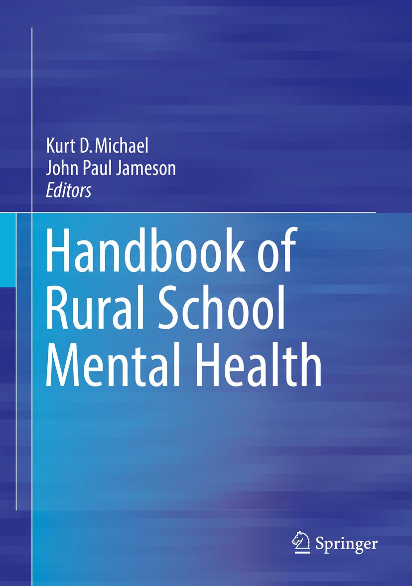Jameson, John Paul - Handbook of Rural School Mental Health, e-bok