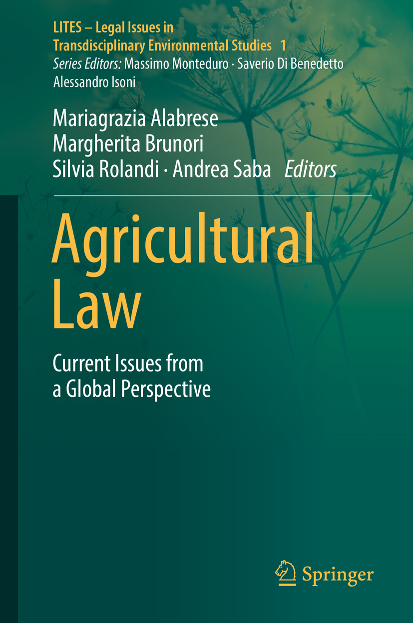 Alabrese, Mariagrazia - Agricultural Law, ebook